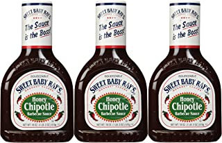 Sweet Baby Ray's Honey Chipotle BBQ Sauce (18 oz) 3 Pack
