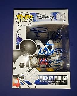 BRET IWAN - Autographed Signed MICKEY MOUSE FUNKO POP 64 - DISNEY DISNEYLAND MARVEL COA Proof