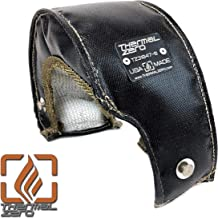 Thermal Zero TZ31847 Universal Black Turbo Blanket Fits Most GT25, GT28, T3 and Similar Small Frame Internal Wastegate Garrett, Precision, Turbonetics etc turbocharger housings Proudly Made in the USA