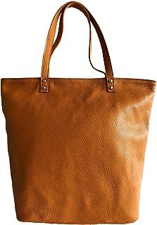 ce30c523f MASSIMA BARONI Bolsos Mujer Modelo Livia Bolso de Piel Tipo Tote Bag para  Llevar al Hombro