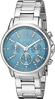 Armani Exchange Women's AX4333 Analog Display Analog Quartz Silver Watch
