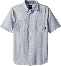 Vans Kids Wexford Short Sleeve Woven (Big Kids)