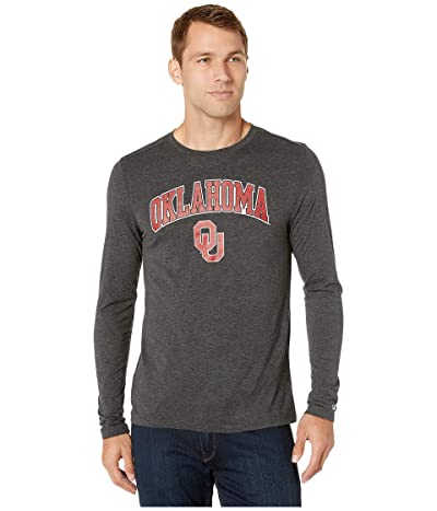 Champion College Oklahoma Sooners Field Day Long Sleeve Tee (Black) Men