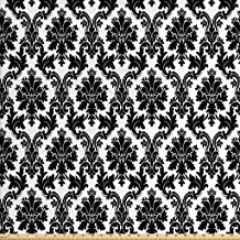 Best cheap black and white damask fabric Reviews