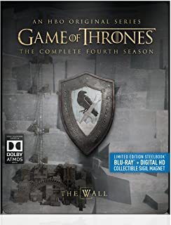 Game of Thrones: The Complete Fourth Season (Steelbook) [Blu-ray]