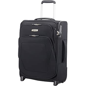 SAMSONITE Spark SNG - Upright 55/20 Expendable Length 40cm Hand Luggage, 55 cm, 48,5 liters, Black