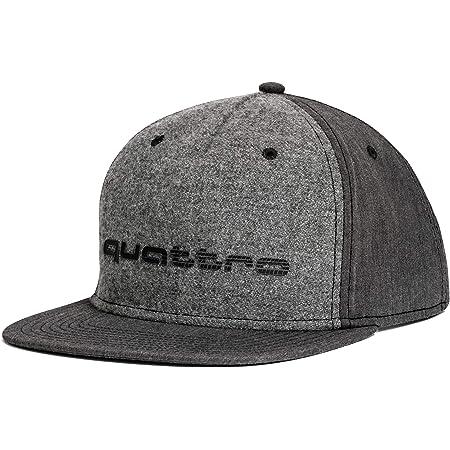 Audi Sport Gmbh 3131700800 Basecap Snapback Cap Baseballcap Kappe Mit Quattro Schriftzug Grau Auto