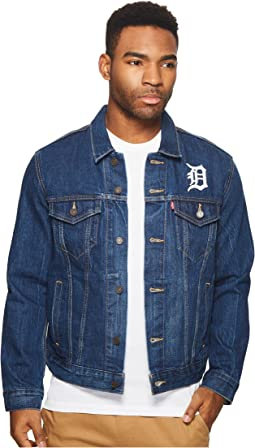 Detroit Tigers Denim Trucker
