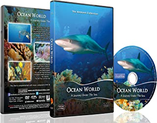 Underwater DVD - Ocean World - Underwater Relaxation Experience filmed in the Red Sea, Pacific and Indian Ocean