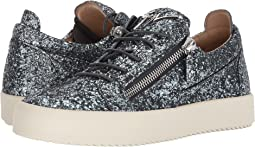 Giuseppe Zanotti May London Glitter Low Top Sneaker