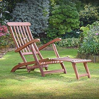 Plant Theatre - Tumbona reclinable de madera, totalmente montada, excelente calidad