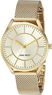 Nine West Women's NW/1922 Mesh Bracelet Watch
