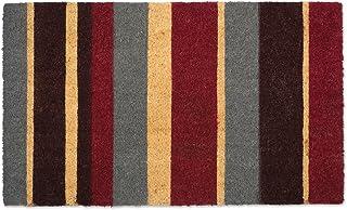 "DII Colorful Design Natural Coir Doormat, 18x30"", Multi Stripe"