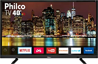 "Smart TV 40"" Led, Philco PTV40E21DSWN, Preto"