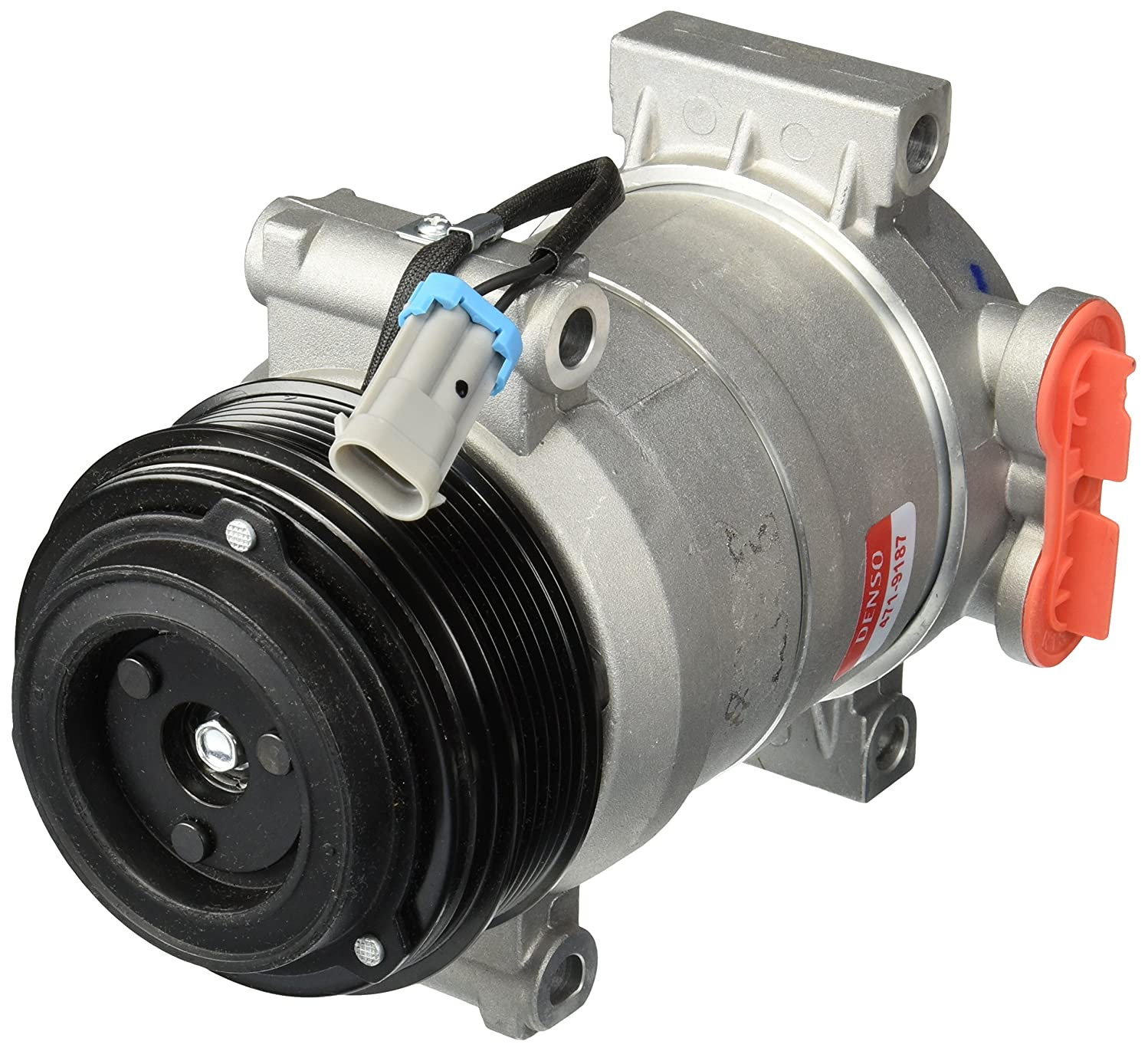 Denso 471-9187 New Compressor with Clutch