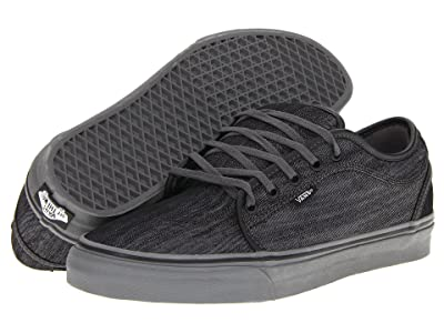 Vans Chukka Low ((Denim) Black/Pewter) Skate Shoes