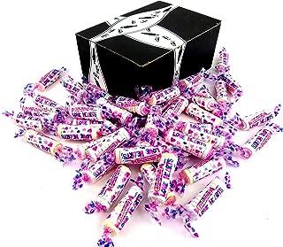 Smarties Love Hearts Candy Rolls, 2 lb Bag in a BlackTie Box