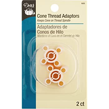 Dritz 920 Cone Thread Adapters 2 Count 2-Pack