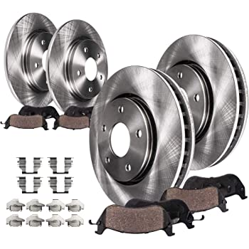 Autospecialty KOE717 1-Click OE Replacement Brake Kit