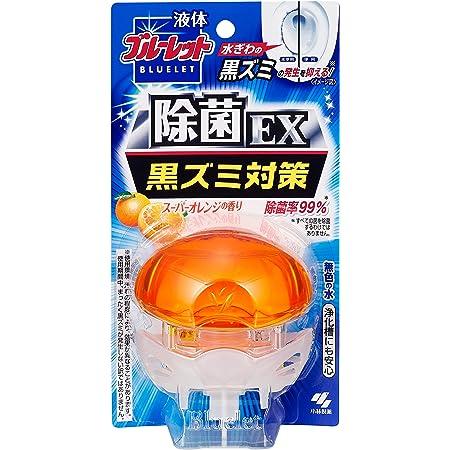 液体ブルーレットおくだけ除菌EX トイレタンク芳香洗浄剤 本体 スーパーオレンジの香り 70ml