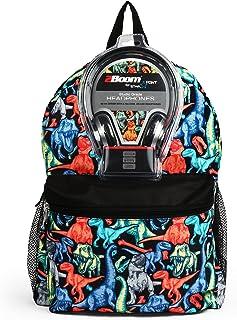 Dinos 43cm Backpack with Headphones