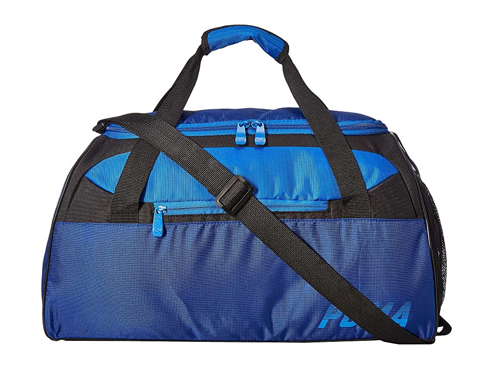 9b54a58873 PUMA Evercat Direct Duffel (Blue Black) Duffel Bags