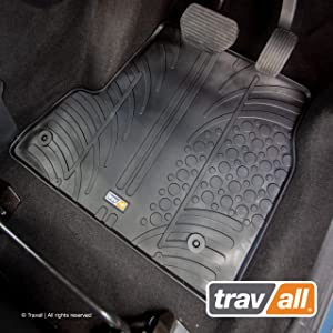 Travall Mats TRM1072R Vehicle-Specific Rubber Floor Car Mats