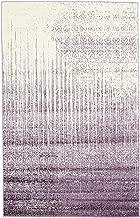 Unique Loom Del Mar Collection Contemporary Transitional Purple Area Rug (5' 0 x 8' 0)