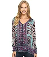 Lucky Brand - Moroccan Border Blouse