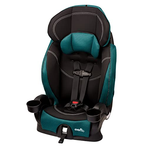 High Back Booster Seat with 5 Point Harness: Amazon.com