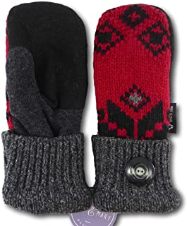 mittens made from sweaters
