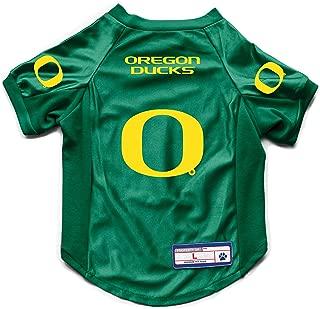 Littlearth NCAA Oregon Ducks Pet Stretch Jersey, Medium