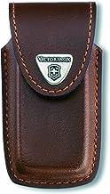 Victorinox Tillbehör läderfodral för Swiss Champ blockerad kappa, brun, en storlek
