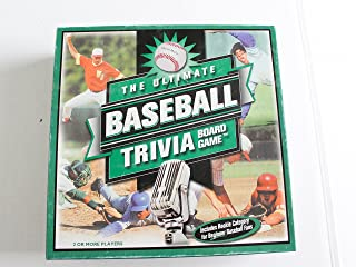 Outset Media The Ultimate Baseball Trivia Board Game