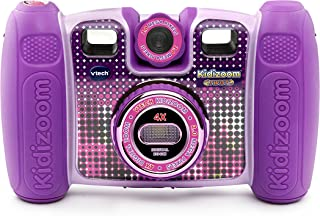 VTech Kidizoom Twist Connect Camera, Purple