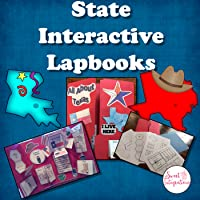 STATE INTERACTIVE LAPBOOK - Facts and Symbols - Texas and Generic Templates