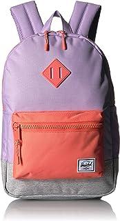 Herschel Heritage Youth, Lavender Crosshatch/Light Grey Crosshatch/Fresh Salmon (multi) - 10312-02746-OS