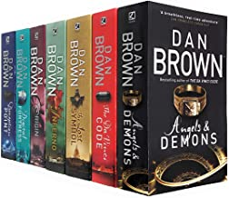 Robert Langdon Series Collection 7 Books Set By Dan Brown (Angels And Demons, The Da Vinci Code, The Lost Symbol, Inferno,...