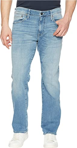 Mavi Jeans Zach Regular Rise Straight Leg in Light Blue Williamsburg