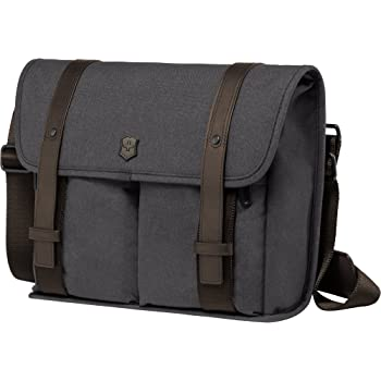 Victorinox Architecture Urban Lombard Laptop Briefcase, Grey/Brown, 10.6-inch