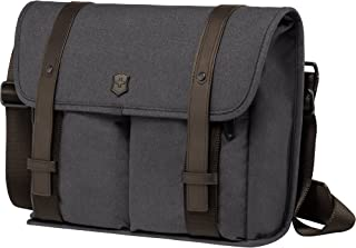 Victorinox Architecture Urban Lombard Laptop Messenger Bag, Grey/Brown, One Size