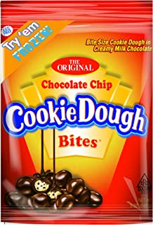 Cookie Dough Bites Chocolate Chip Peg Bag, 5 Ounce (Pack of 12)