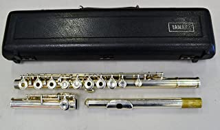 Yamaha YFL-285 SII Silver Plated Open-Hole Flute with Carry Case