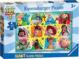 Ravensburger 05562 Disney Pixar Toy Story 4 - 24 Piece Giant Floor Jigsaw Puzzle for Kids - Every Piece is Unique - Pieces...