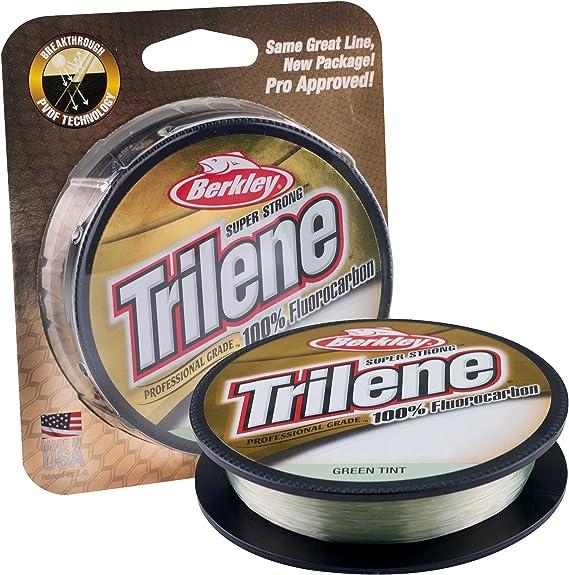 Berkley Unisex-Adult Trilene 100/% Fluorocarbon XL Standard Clear