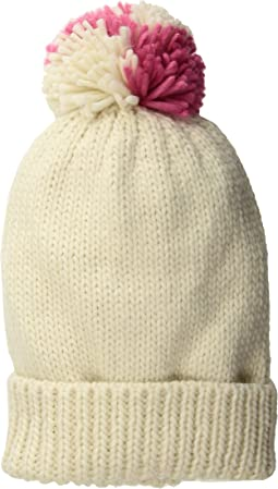 San Diego Hat Company Mckenna Bleu Blogger Collaboration Beanie with Pink Multicolor Pom