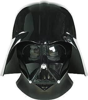 Star Wars Ep3 Darth Vader Collectors Helmet,Black,One Size Costume