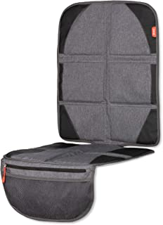 Diono Ultra Mat Deluxe Full Size Car Seat Protector with Integrated Heatshield, Crash Tested with Premium Ultra Thick Padd...