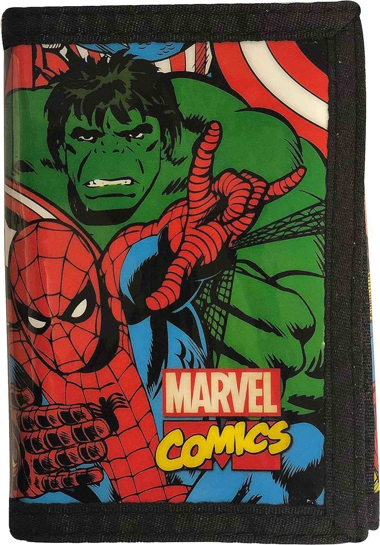 Marvel Comics Tri-Fold Direct sale of manufacturer Credit Wallet… Card cheap Case