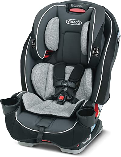 Graco SlimFit 3 in 1 Car Seat   Slim & Comfy Design Saves Space in Your Back Seat, Anabele